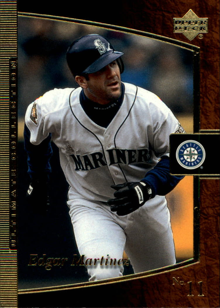 2001 Ultimate Collection #14 Edgar Martinez