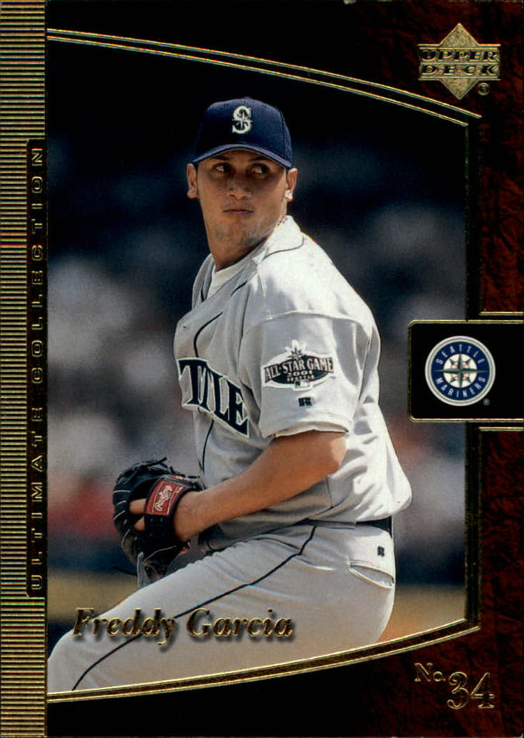 2001 Ultimate Collection #15 Freddy Garcia