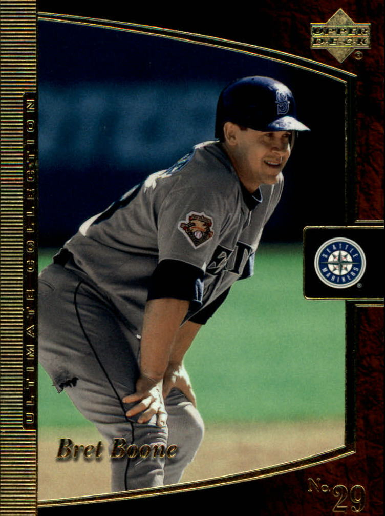 2001 Ultimate Collection #16 Bret Boone