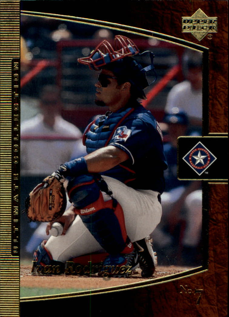 2001 Ultimate Collection #21 Ivan Rodriguez