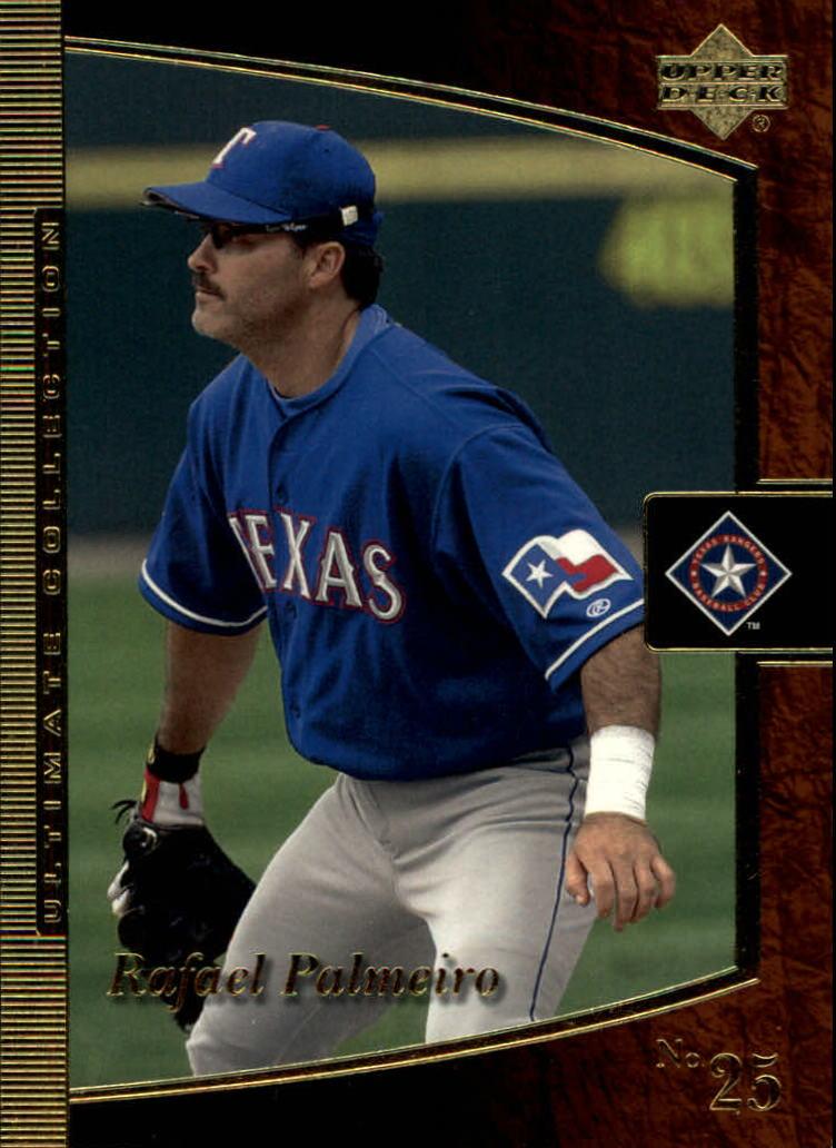 2001 Ultimate Collection #22 Rafael Palmeiro