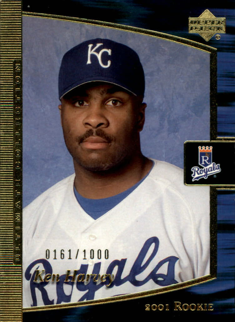 2001 Ultimate Collection #91 Ken Harvey T1