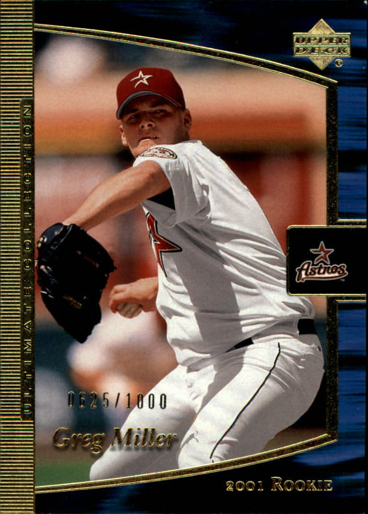 2001 Ultimate Collection #94 Greg Miller T1 RC
