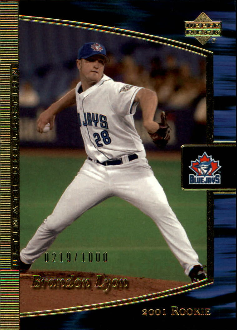 2001 Ultimate Collection #96 Brandon Lyon T1 RC