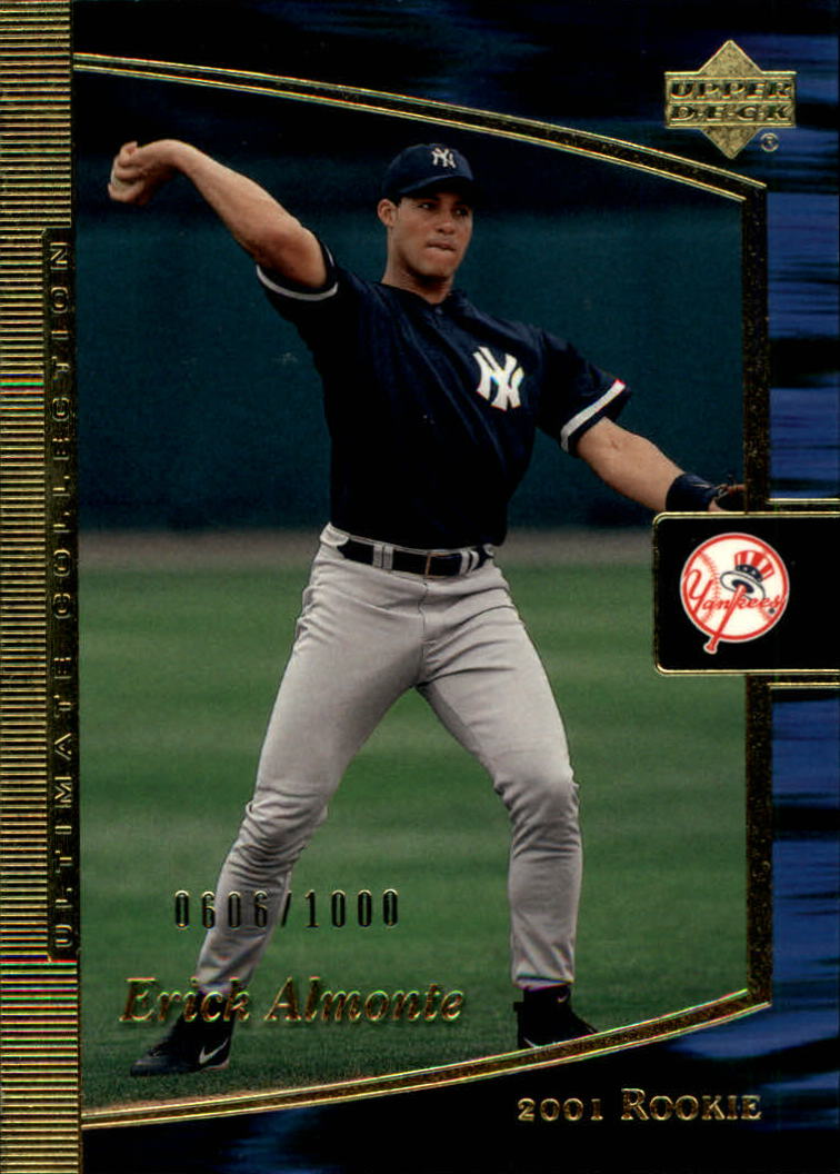 2001 Ultimate Collection #99 Erick Almonte T1 RC