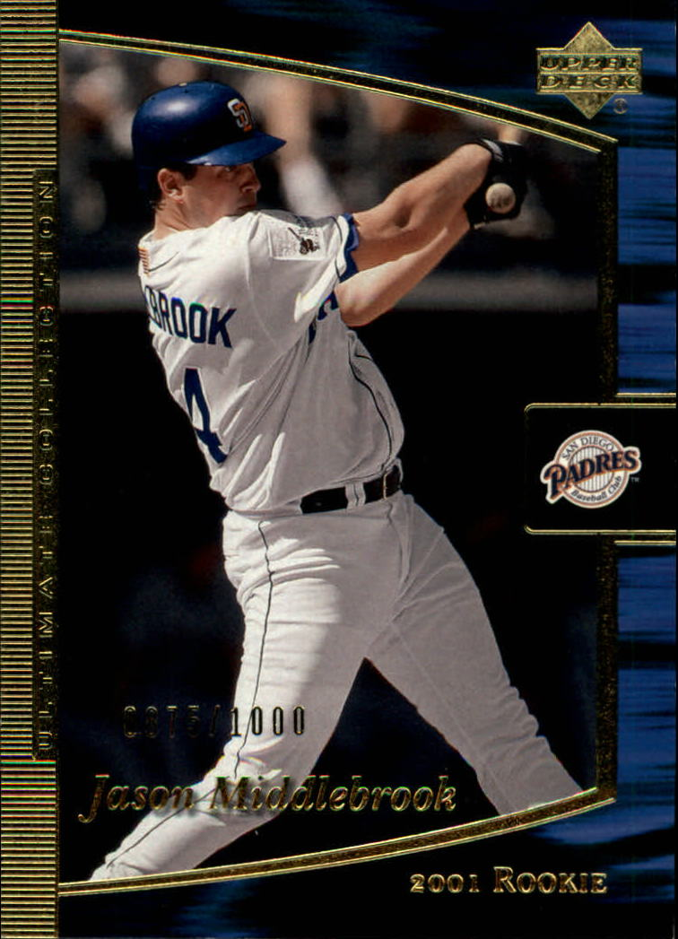 2001 Ultimate Collection #100 Jason Middlebrook T1 RC