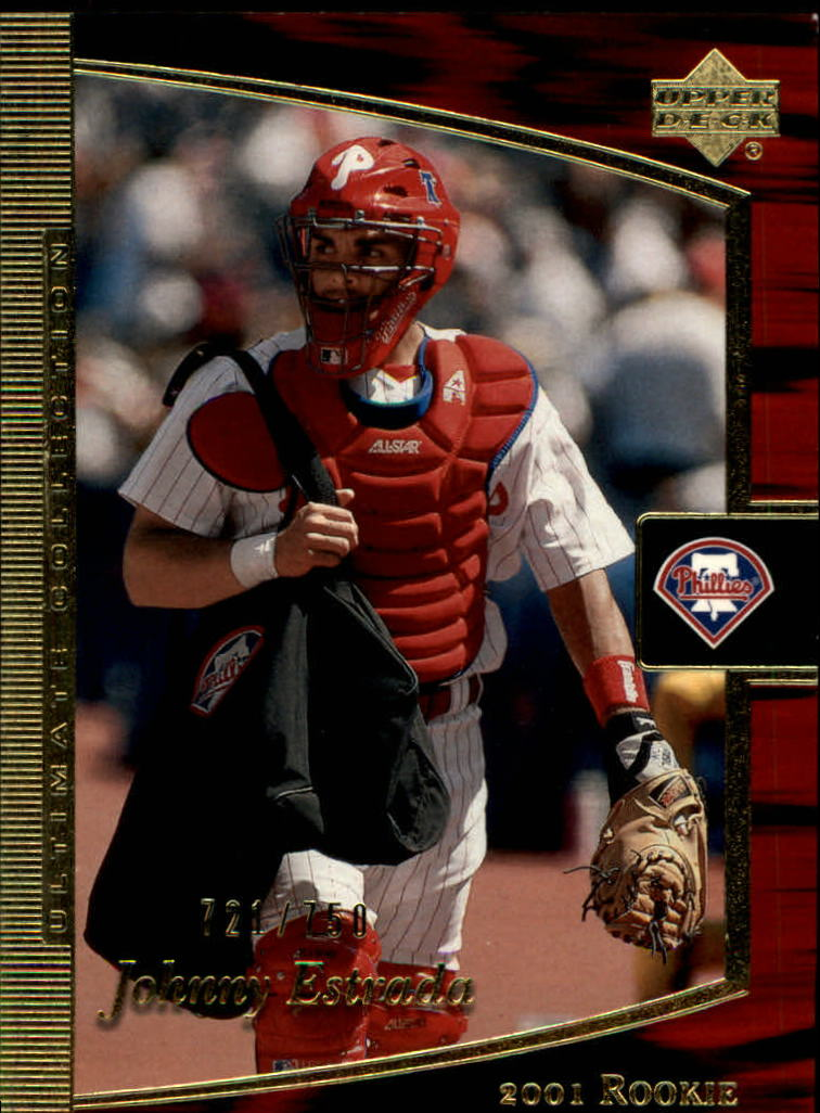 2001 Ultimate Collection #101 Johnny Estrada T2 RC