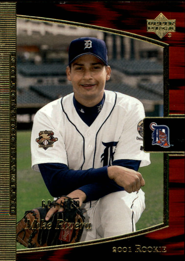 2001 Ultimate Collection #105 Mike Rivera T2 RC