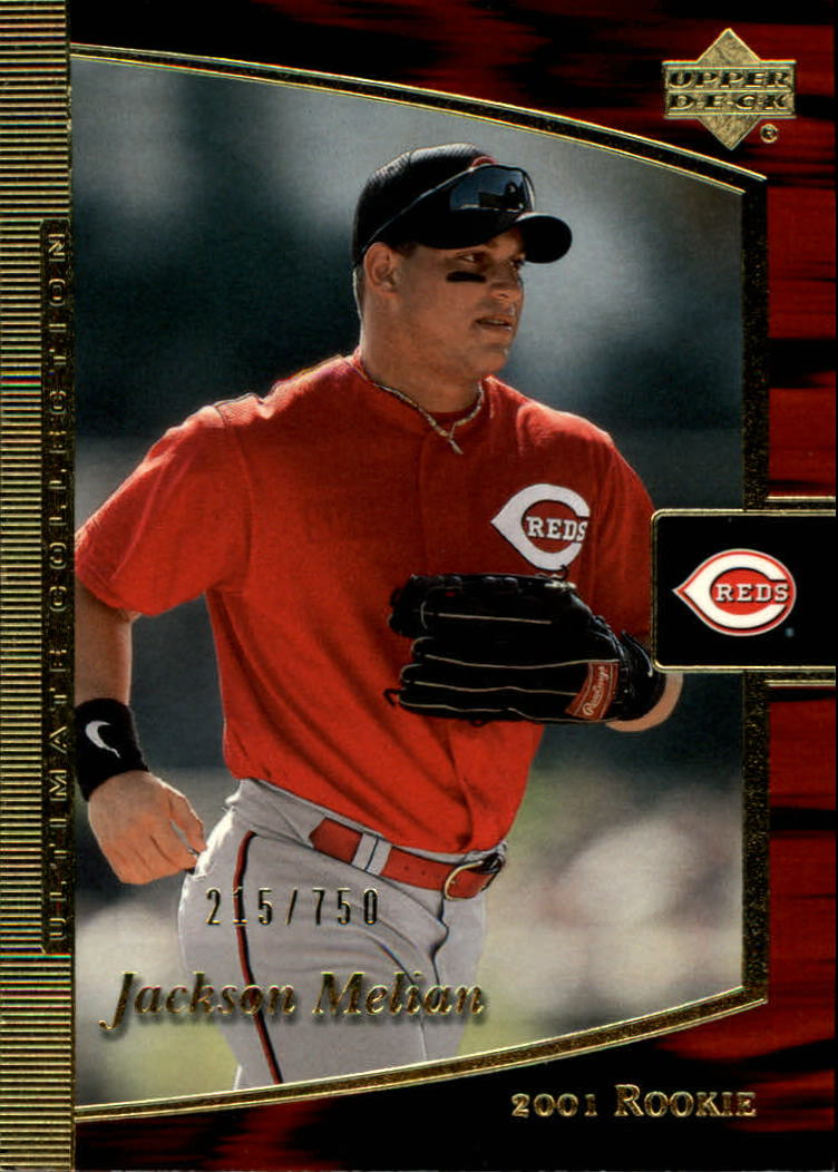2001 Ultimate Collection #109 Jackson Melian T2 RC