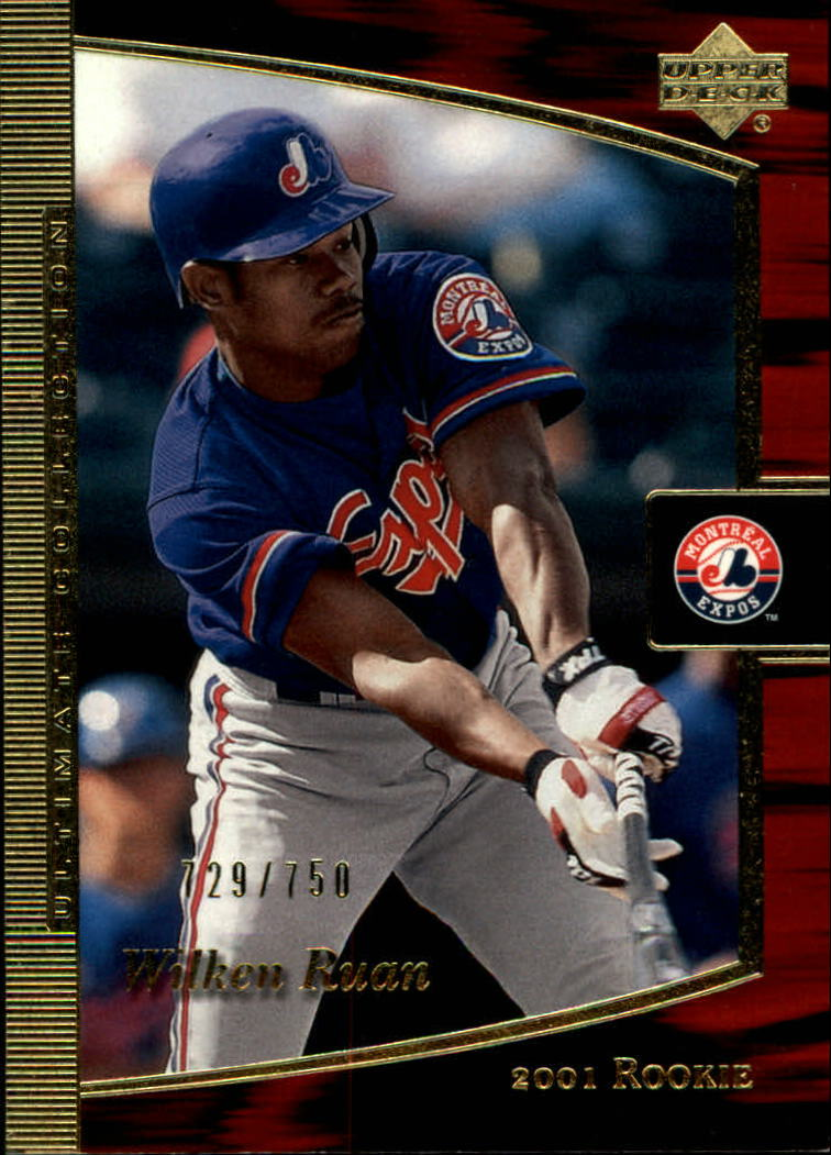 2001 Ultimate Collection #110 Wilkin Ruan T2 RC