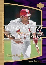2001 Ultimate Collection #111 Albert Pujols T3 RC
