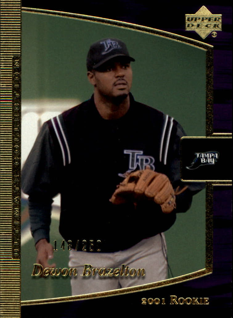 2001 Ultimate Collection #115 Dewon Brazelton T3 RC