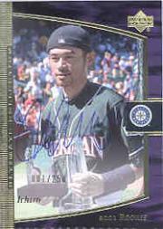 2001 Ultimate Collection #120 Ichiro Suzuki T3 AU RC