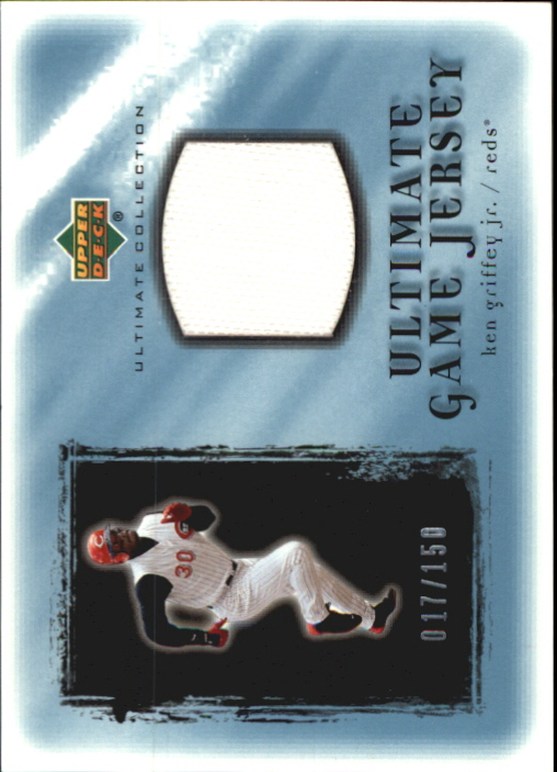2001 Ultimate Collection Game Jersey #UKG Ken Griffey Jr.