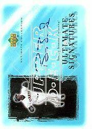 2001 Ultimate Collection Signatures #BAB Barry Bonds