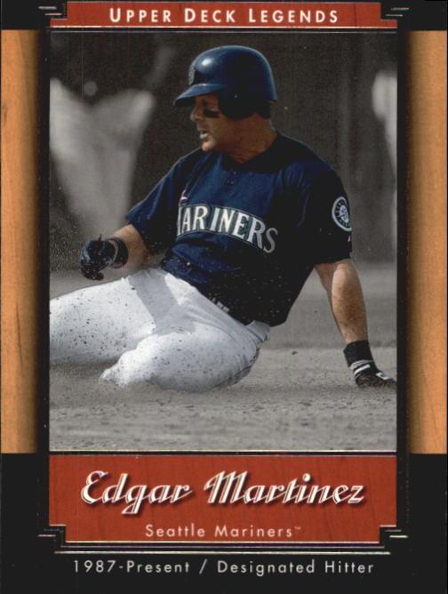 2001 Upper Deck Legends #16 Edgar Martinez