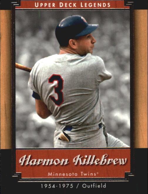 2001 Upper Deck Legends #33 Harmon Killebrew