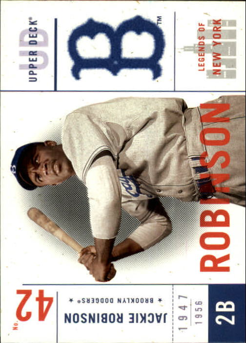 2001 Upper Deck Legends of NY #7 Jackie Robinson