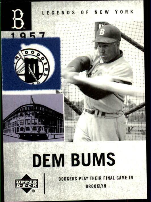 2001 Upper Deck Legends of NY #21 Duke Snider DB