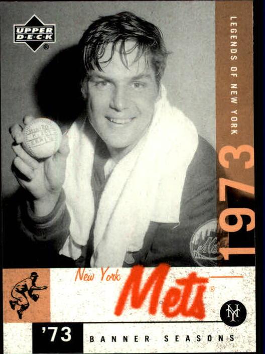 2001 Upper Deck Legends of NY #91 Tom Seaver BNS