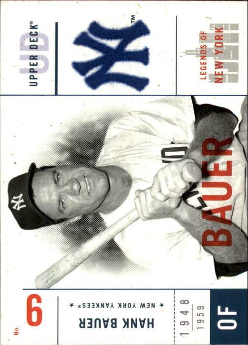 2001 Upper Deck Legends of NY #106 Hank Bauer