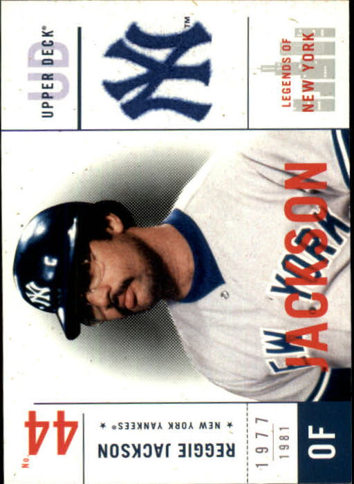 2001 Upper Deck Legends of NY #115 Reggie Jackson