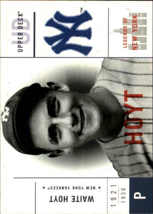 2001 Upper Deck Legends of NY #121 Waite Hoyt