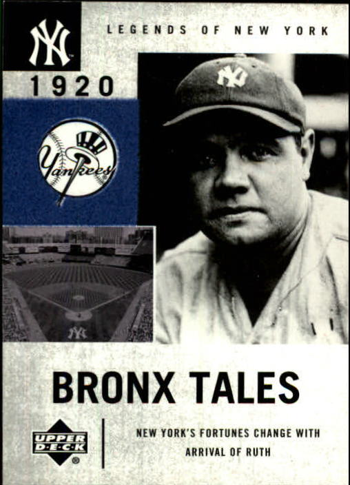 2001 Upper Deck Legends of NY #125 Babe Ruth BT