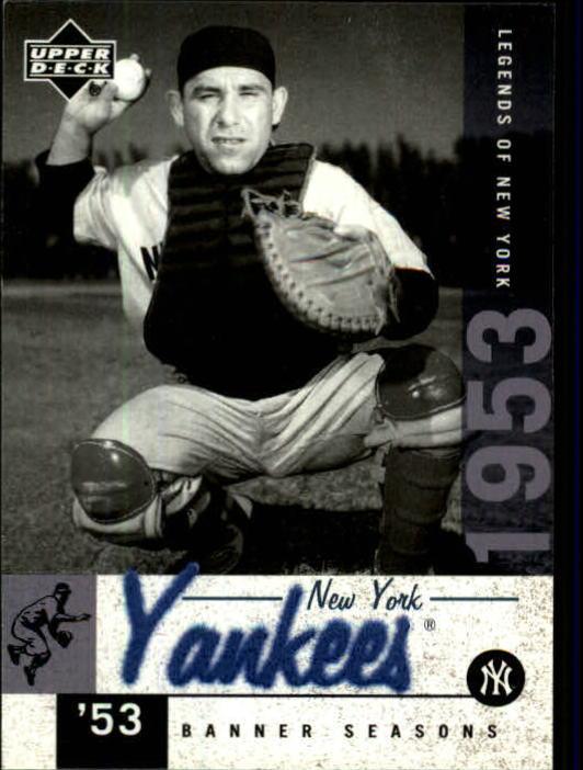 2001 Upper Deck Legends of NY #145 Yogi Berra BNS