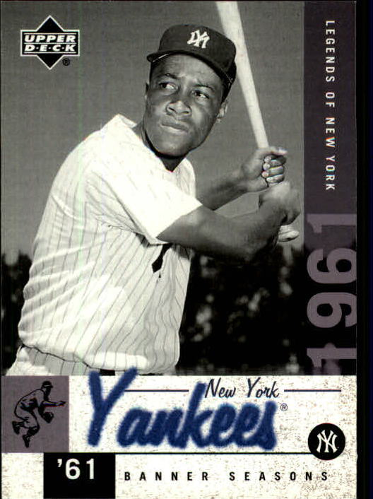 2001 Upper Deck Legends of NY #147 Elston Howard BNS