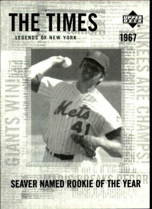 2001 Upper Deck Legends of NY #193 Tom Seaver TT