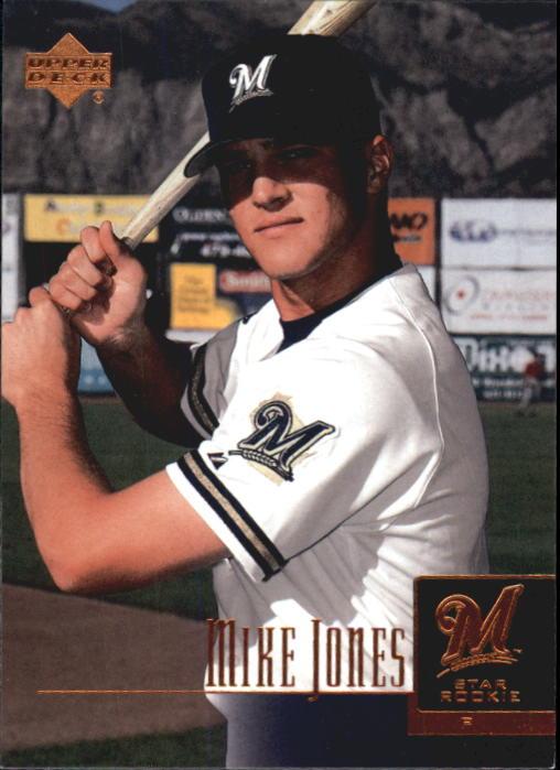 2001 Upper Deck Prospect Premieres #21 Mike Jones XRC