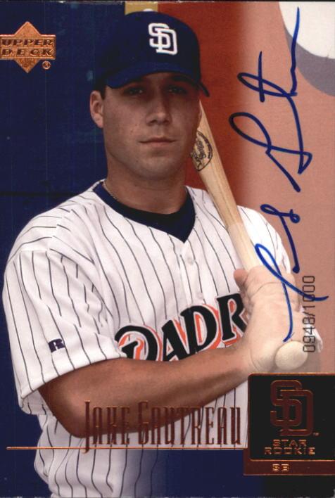 2001 Upper Deck Prospect Premieres #98 Jake Gautreau AU XRC
