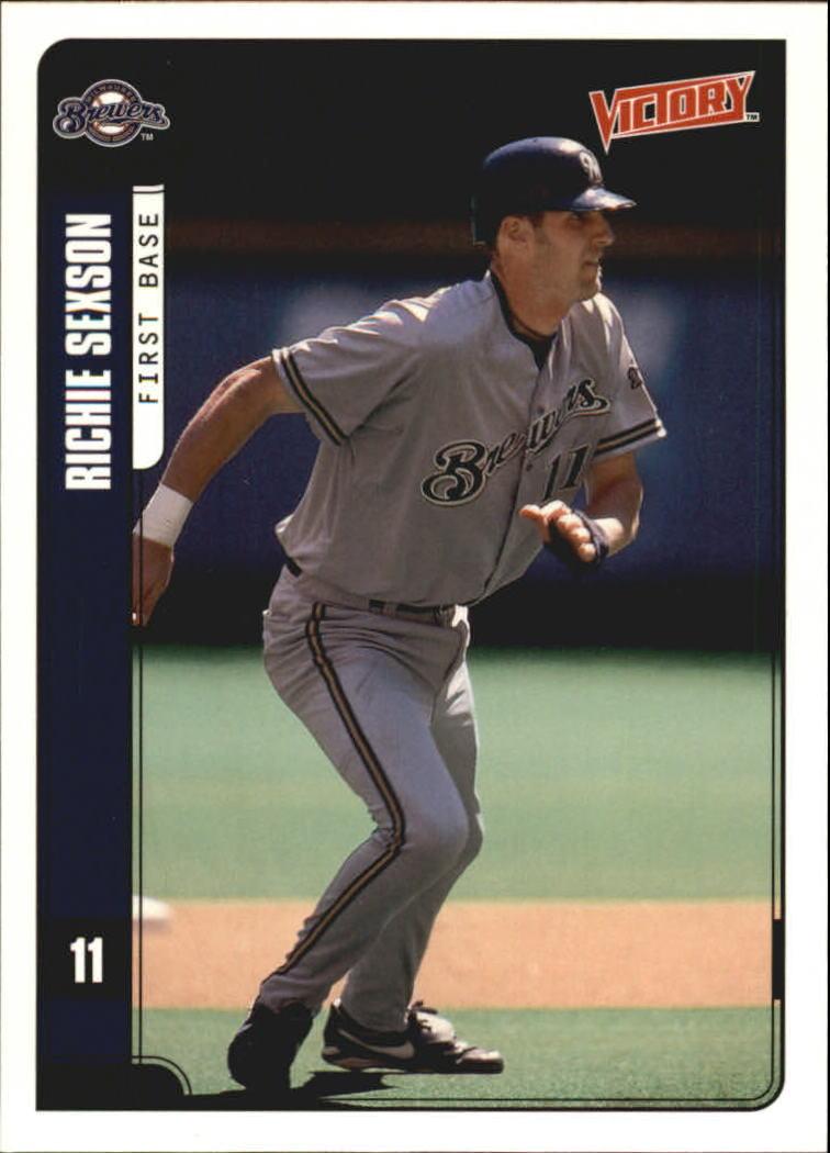 2001 Upper Deck Victory #297 Richie Sexson
