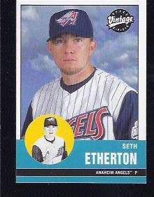 2001 Upper Deck Vintage #2 Seth Etherton