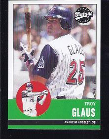 2001 Upper Deck Vintage #3 Troy Glaus