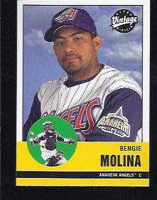 2001 Upper Deck Vintage #4 Bengie Molina