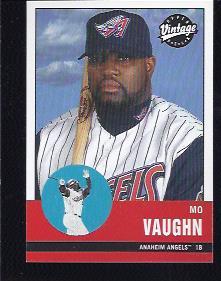2001 Upper Deck Vintage #5 Mo Vaughn