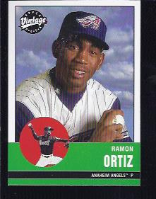 2001 Upper Deck Vintage #7 Ramon Ortiz