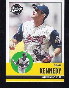 2001 Upper Deck Vintage #8 Adam Kennedy
