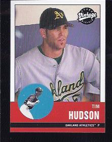 2001 Upper Deck Vintage #13 Tim Hudson