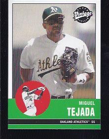 2001 Upper Deck Vintage #15 Miguel Tejada