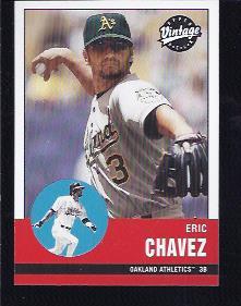 2001 Upper Deck Vintage #17 Eric Chavez