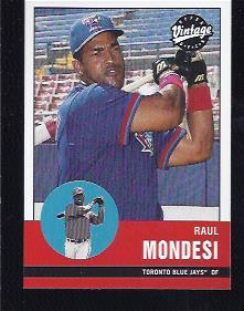 2001 Upper Deck Vintage #25 Raul Mondesi