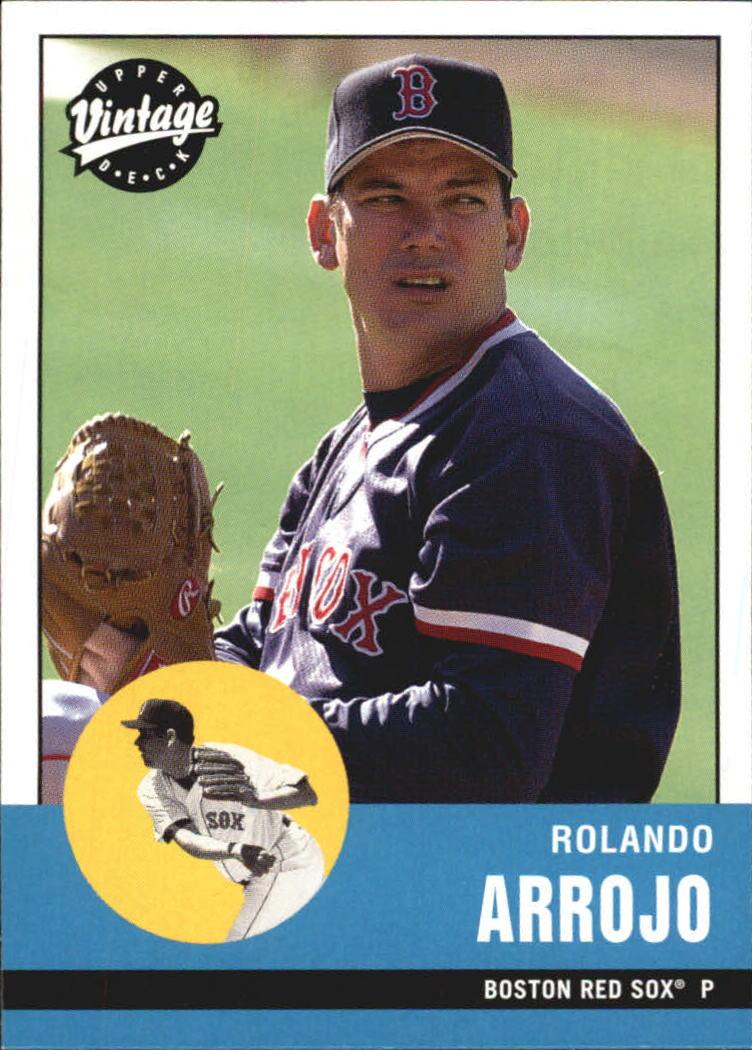 2001 Upper Deck Vintage #98 Rolando Arrojo