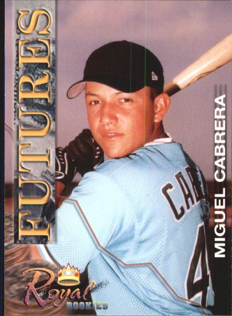 2001 Royal Rookies Futures #16 Miguel Cabrera