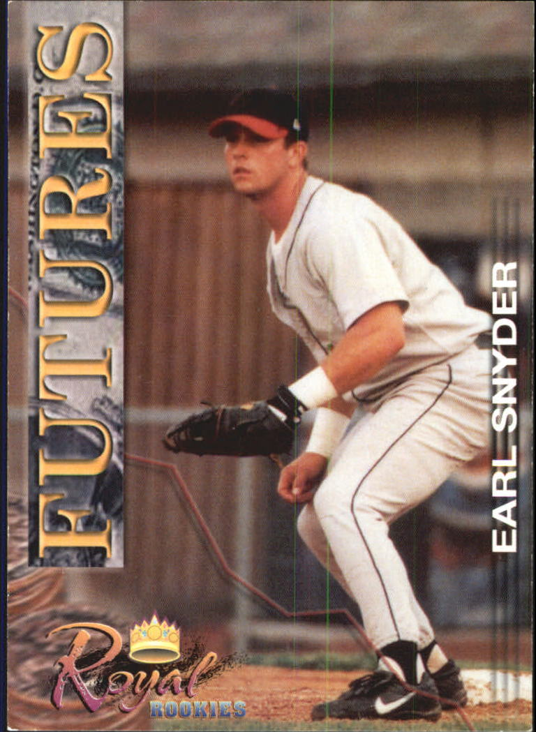 2001 Royal Rookies Futures #29 Earl Snyder