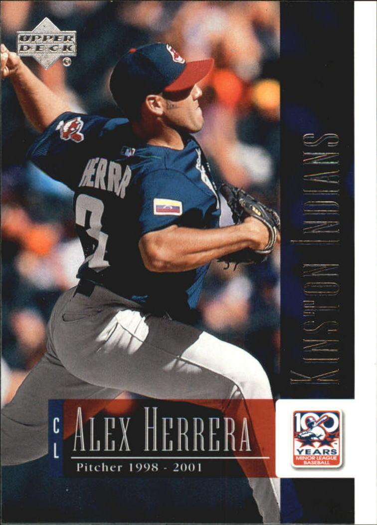 2001 Upper Deck Minors Centennial #24 Alex Herrera