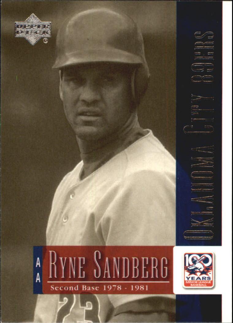 2001 Upper Deck Minors Centennial #57 Ryne Sandberg