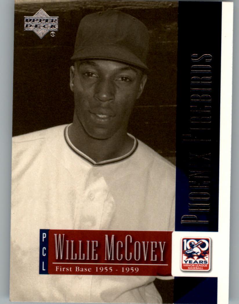 2001 Upper Deck Minors Centennial #71 Willie McCovey